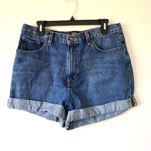 BDG Urban Outfitters denim mom high rise shorts